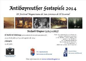 Cartel Antibayreuth 2014